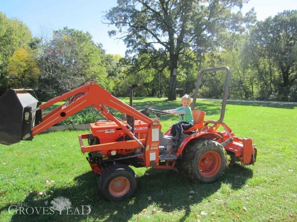 Ivar Riding Tractor