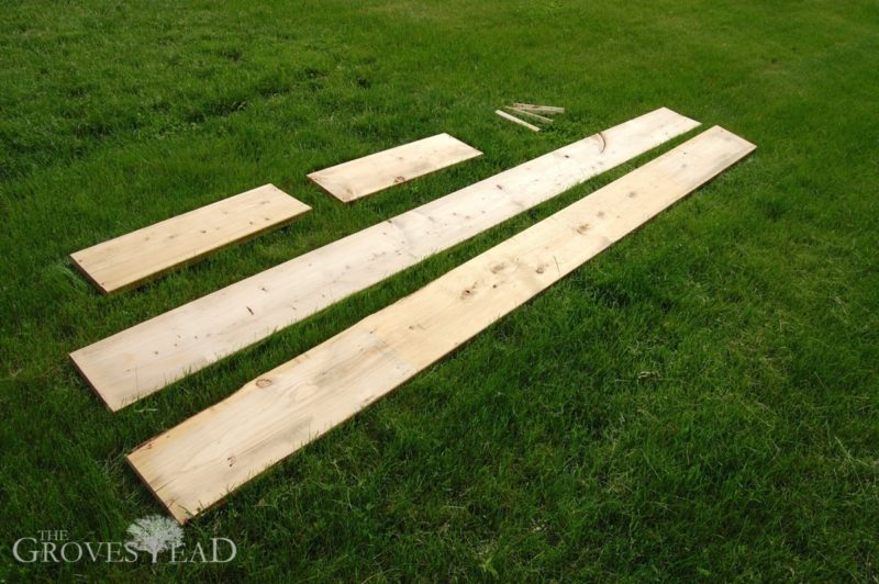 Selecting lumber for your raised bed gardens