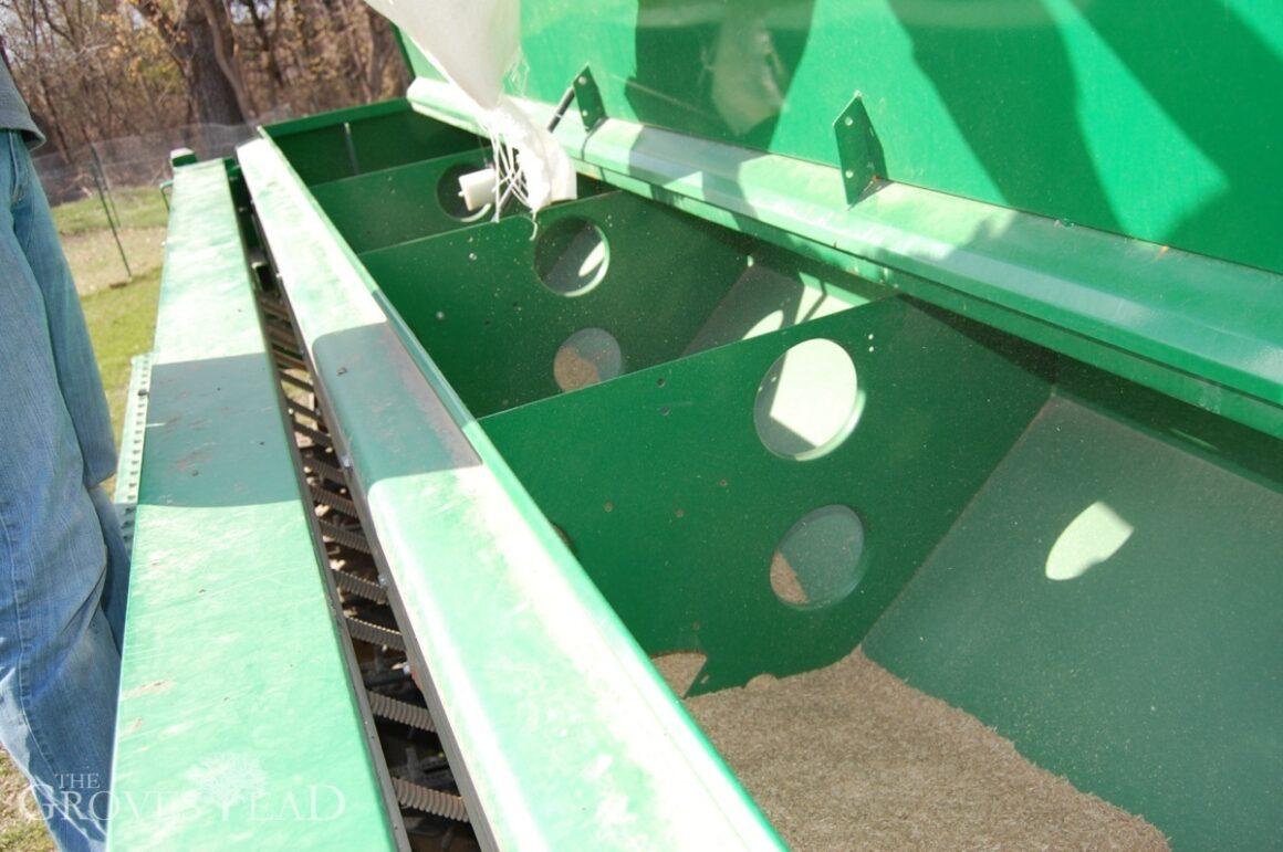 A look inside the seed bin