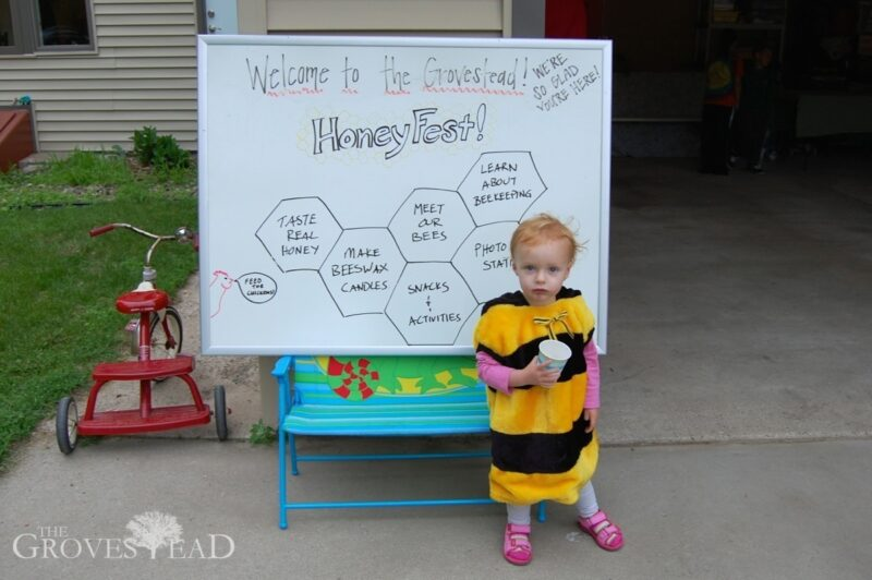 HoneyFest mascot