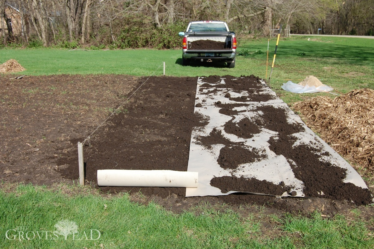 Planting A No Till Garden Step By Step The Grovestead