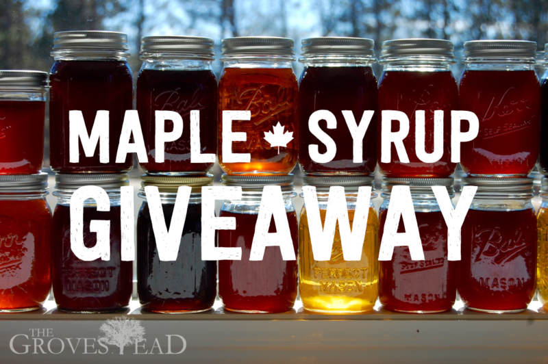 Maple Syrup Giveaway